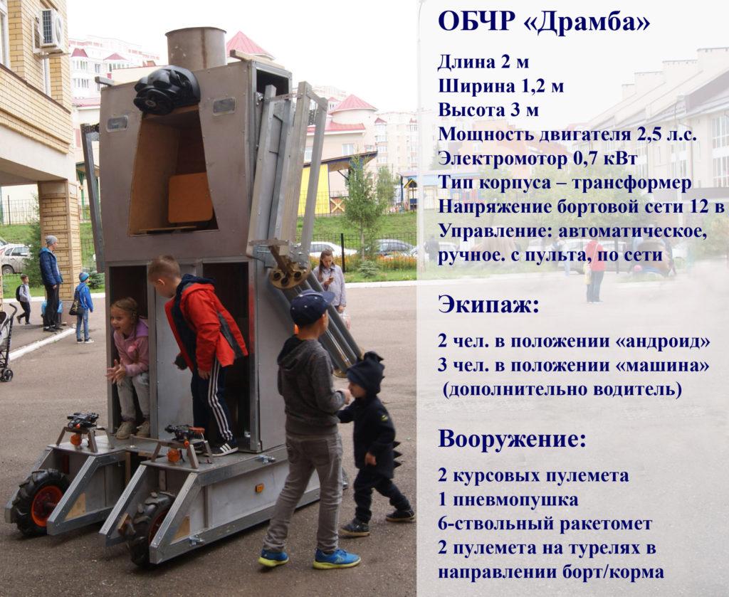 Робот Драмба